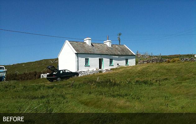 Clare Island Cottage Extension Planning Workshop Ireland